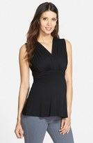 Maternal America Women's 'Tummy Tuck' Maternity/nursing Top