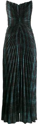 Marco De Vincenzo strapless fitted midi dress