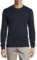 Michael Kors Interlock Long-Sleeve Cashmere Sweater, Midnight