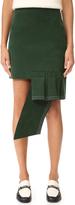 Jacquemus Volant Horizontal Mini Skirt