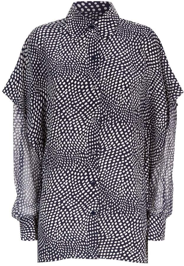 Diane von Furstenberg Polka Dot Shirt
