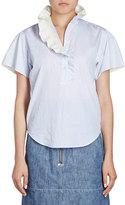 Isabel Marant Jen Ruffle-Collar Blouse