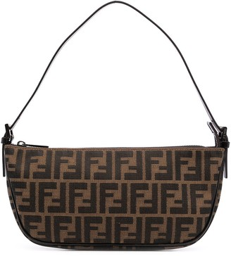 Fendi Pre-Owned Zucca-print top-handle bag