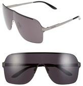 Carrera Men's Eyewear 145Mm Shield Sunglasses - Black Ruthenium/ Grey