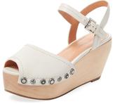 Sigerson Morrison Cailey Leather Platform Sandal