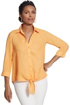 Chico's Linen Lydia Shirt