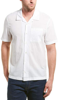 James Perse Voile Camp Collar Shirt