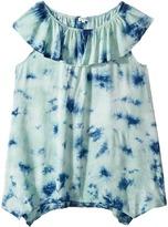 Splendid Littles All Over Tie-Dye Voile Top Girl's Clothing
