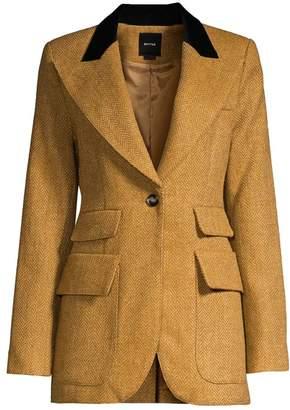 Smythe Blocked Birkin Wool Blazer