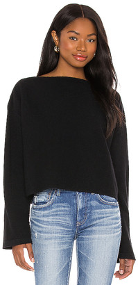 Moussy Boat Neck Knit Sweater
