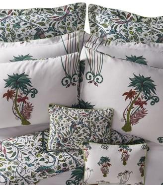 Emma J Shipley Jungle Palms Oxford Pillow Case 50Cm X 75Cm