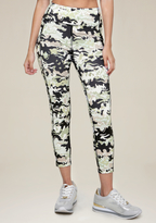 Bebe Print Crop Leggings