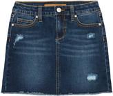 Joe's Jeans Girl's Stretch Denim Skirt w/ Distressing, Size 7-16