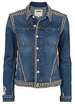 L'Agence Celine Studded Jean Jacket