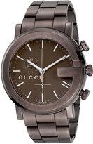 Gucci XL PVD G Chronograph, Brown