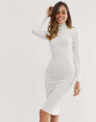 Brave Soul juliet high neck jumper dress