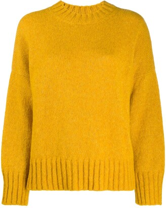 Masscob Knitted Crew-Neck Jumper
