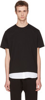 Neil Barrett Black & White Combo T-Shirt