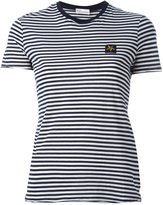 RED Valentino striped T-shirt - women - Cotton - XL