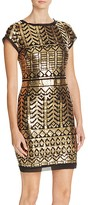 Eliza J Sequin Mini Dress