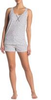 Calvin Klein Jersey Tank & Shorts Pajama 2-Piece Set