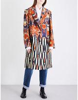 Dries Van Noten Remigino jacquard coat