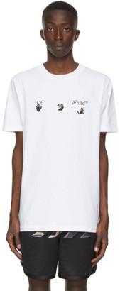 Off-White White Big Logo T-Shirt