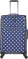 Heritage Polka Dot 24-Inch Checked Luggage - Women's