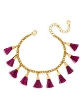 BaubleBar Festival Tassel Bracelet