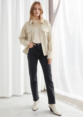 And other stories High Rise Slim Jeans