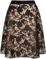 Yumi Floral Printed Organza Skirt