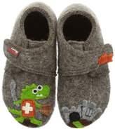 Living Kitzbühel Boys Flax Slippers 2204-260 Taupe 4 UK Child, 20 EU