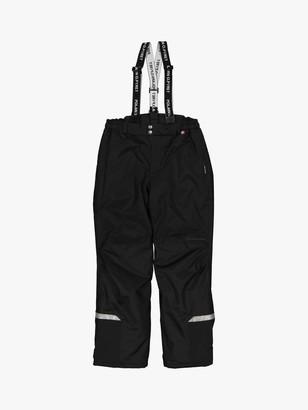 Polarn O. Pyret Children's Waterproof Shell Trousers, Black