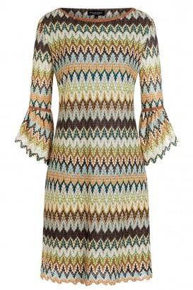 A.N.A Alcazar - Zagy Volant Sleeve Dress - 8