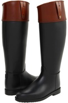 Burberry Shingay Leather Top Rainboot