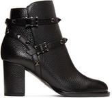 Valentino Black rockstud Noir Boots