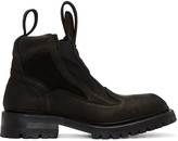 Julius Black Tank Boots