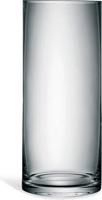LSA International Column medium glass vase