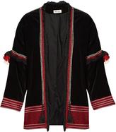 Masscob Badin embroidered velvet jacket