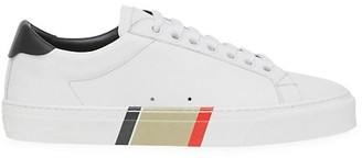 Burberry Rangleton Leather Sneakers