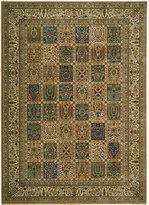 "Nourison Area Rug, Persian Arts BD01 Beige 5' 3"" x 7' 5"""