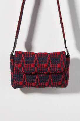 Maria La Rosa Sun Woven Crossbody Bag