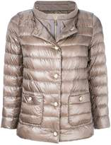 Herno layered look padded jacket