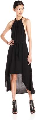 LAmade Women's Crepe Celine Hi Low Dress
