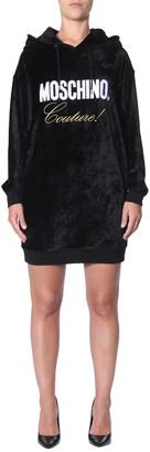 Moschino Logo Hoodie Dress