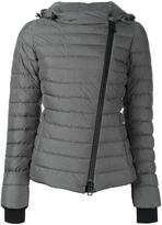 Herno asymmetric zipper puffer jacket