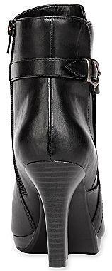 Sabrina Liz & Co. High-Heel Booties w/ Braided Trim