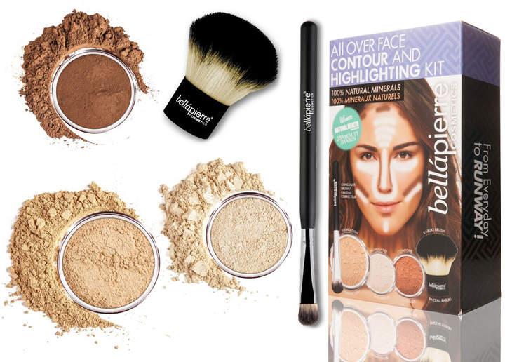 Bellapierre Cosmetics Cosmetics All Over Face Highlight & Contour Kit - Medium