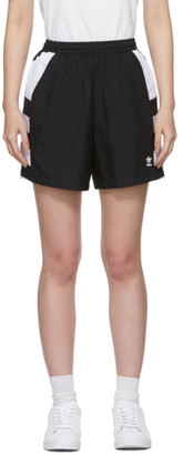 adidas Black Large Logo Shorts