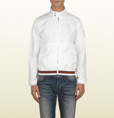 Gucci Men's Bomber Jacket With '500 By Gucci' Script Print.